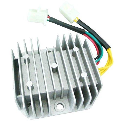 JRL 6-Wires 12V DC Voltage Regulator Rectifier For Honda Dirt Bike CH125 GY6 Quad 1pc