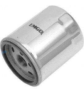 Micro Glass Chrome Oil Filter for Kawasaki ZZR 1400 2006-2012