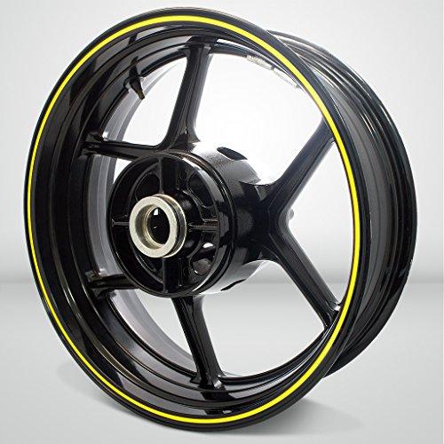 Thin Outer Rim Liner Stripe for Kawasaki ZZR 1400 Gloss Yellow