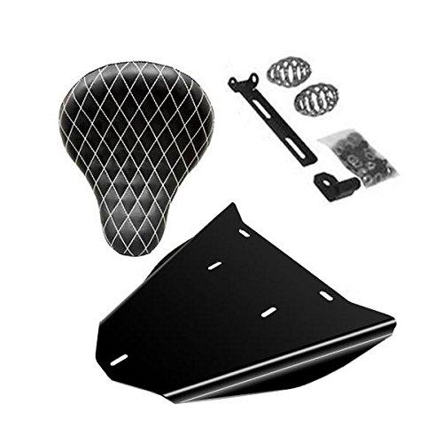 Honda Shadow VLX600 Bobber Seat Conversion Kit With 16 White Diamond Seat