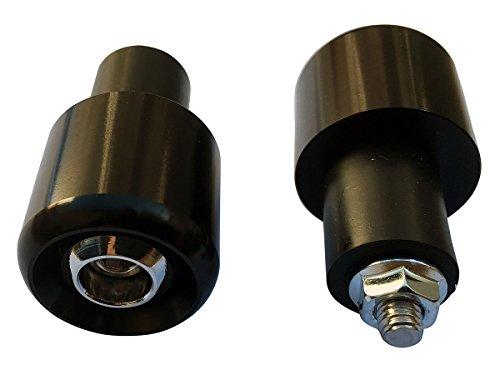 Black 78 22mm Handle Bar End Weights Plugs Grips Cap Sliders for 2004 Suzuki Burgman 650