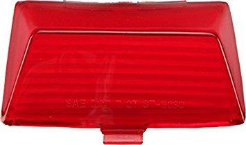 HardDrive F51-0642LR Red Rear Fender Tip Light Replacement Lens