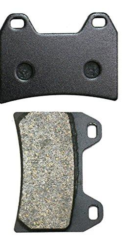 CNBK Front Left Brake Pads Semi Metallic fit for DUCATI Street Bike 1000 1000S Monster 04 05 06 07 08 09 10 11 12 13 14 15 2004 2005 2006 2007 2008 2009 2010 2011 2012 2013 2014 2015 1 Pair2 Pads