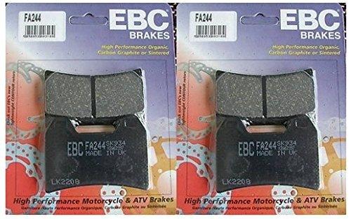 EBC Kevlar Organic Front Brake Pads 2 Sets for Both Calipers 2000-2002 Ducati 748 Monoposto  FA244