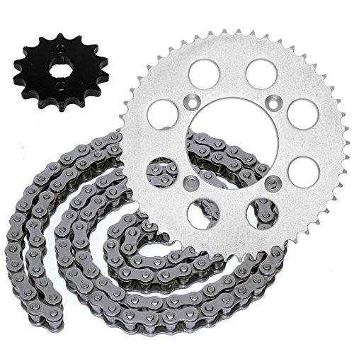CALTRIC Drive Chain Sprockets Kit Fits HONDA XR100R 1985-2003  CRF100F 2004-2013