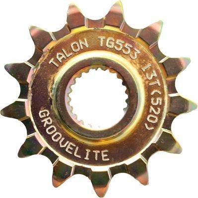 Talon Front Steel Sprocket - 14T  Color Natural Material Steel Sprocket Teeth 14 Sprocket Size 428 Sprocket Position Front 75-33714