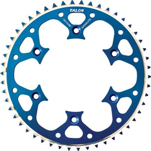 Talon Groovelite Rear Sprocket - 48T  Material Aluminum Color Blue Sprocket Teeth 48 Sprocket Size 428 Sprocket Position Rear 75-14148D