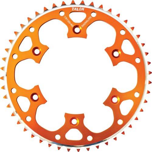Talon Groovelite Rear Sprocket - 48T  Material Aluminum Color Orange Sprocket Teeth 48 Sprocket Size 428 Sprocket Position Rear 75-44348O