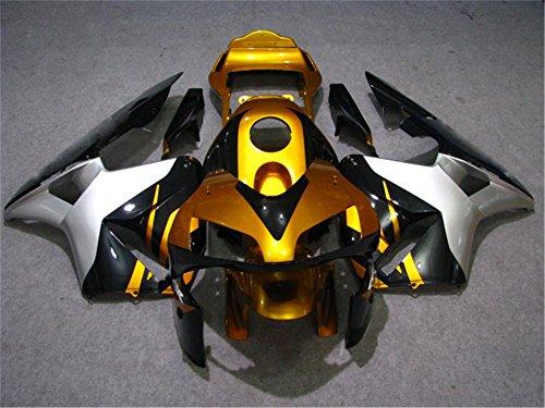 2003 2004 Fit for HONDA CBR600RR Injection mold Fairings Kit Body Kit Bodywork Plastic Gold Bodyframe