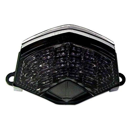 2009-2012 Kawasaki ZX6R 2008-2010 Kawasaki ZX10R Smoked Integrated LED Tail Light