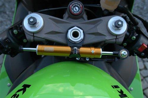 Kawasaki ZX6R 2007-2008 Toby Steering Damper Stabilizer Mount Kit