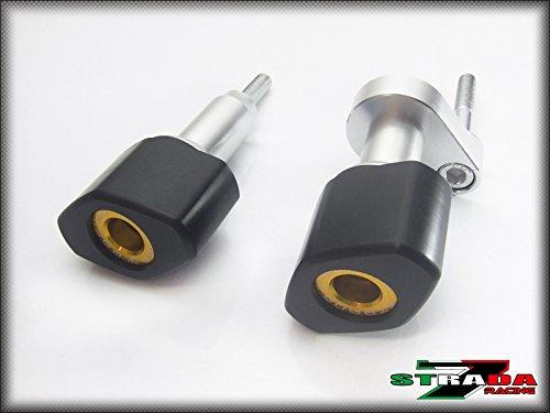 Strada 7 Crash Protectors for Kawasaki ZX6R 2007-2008 - Gold