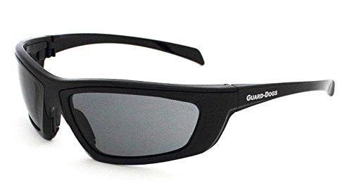 Guard-Dogs Aggressive Eyewear Sidecars 4 Sunglasses Black Onyx Smoke FogStopper