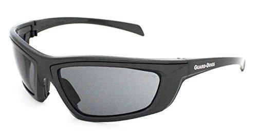 Guard-Dogs Aggressive Eyewear Sidecars 4 Sunglasses Gun Metal Smoke FogStopper