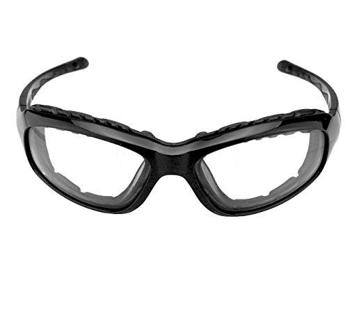 Guard-Dogs Sidecars 5 wGoggle-It Black Onyx Clear wFogStopper