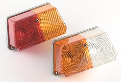 Sidecar front and rear lamps FP219-3716000-V PF232-3726000-B Dnepr 1116 K-750 MB750 MT10-36 MT9 Ural