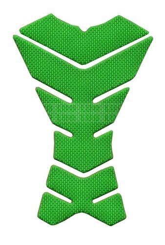 Green Skeleton Motorbike Racing 3d Pad Sticker Rubber Decal Fiber Gas Tank Protector For Aprilia Falco Sl1000