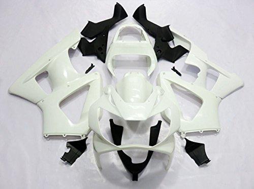 ZXMOTO Unpainted Motorbike ABS Fairing Kit Bodywork for HONDA CBR 929 RR 2000-2001