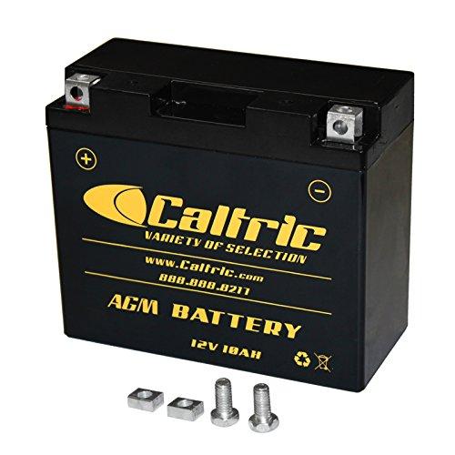 CALTRIC AGM BATTERY Fits YAMAHA XVS650 XV-S650 V-STAR 650 CLASSIC 1997-2010