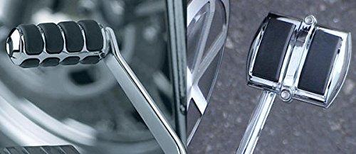 i5 Chrome Rear Brake Pedal Gear Shift Pedal Covers for Yamaha V-Star 650 950 1100 1300