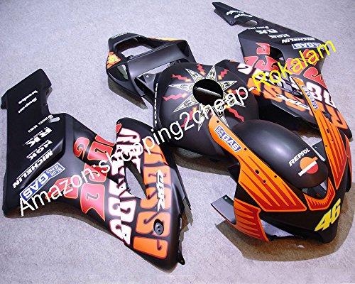 Hot SalesApplique customized kit For Honda CBR1000 04 05 CBR1000RR 2004 2005 GAS black motorbike Fairings Injection molding