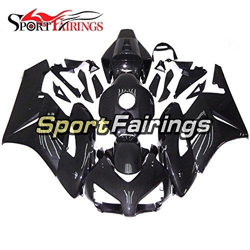 Sportfairings Carbon Fiber Effect ABS Plastics Injection Motorcycle Fairing Kits For Honda CBR1000RR Year 2004 2005 Bodywork