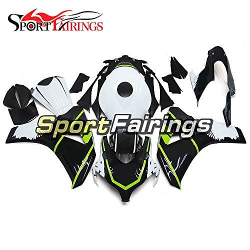 Sportfairings Injection ABS Plastics Black White Motorcycle Fairing Kits For Honda CBR1000RR Year 2008 2009 2010 2011 Cowlings