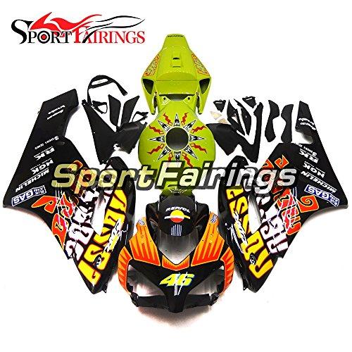 Sportfairings Motorcycle Injection ABS Complete Fairing Kits For Honda CBR1000RR 2004 2005 Fairings Green Orange Black