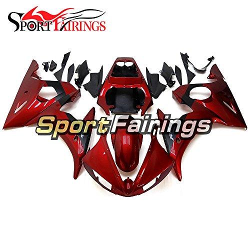 Sportfairings Dark Red Full Fairing Kit For Yamaha YZF600 YZF 600 R6 R6S 06 - 09 2003 2004 03 04 Motorbike Bodywork