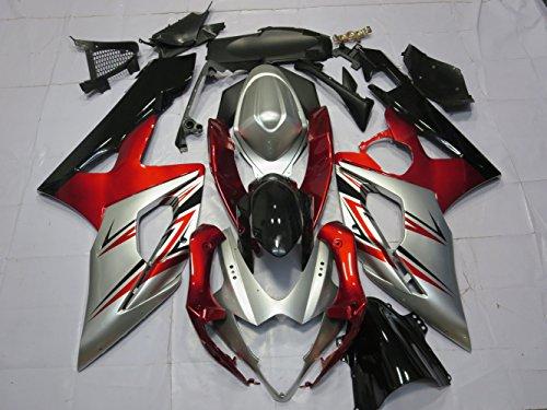ZXMOTO Motorbike Bodywork Fairing Kit for Suzuki GSX-R 1000 2005-2006 Painted With Graphic