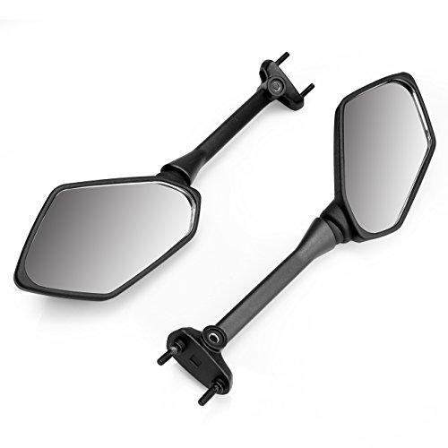 Iglobalbuy Rearview Side Mirrors for Kawasaki Ninja 650R 400R Z1000SX ER6F ER-6F
