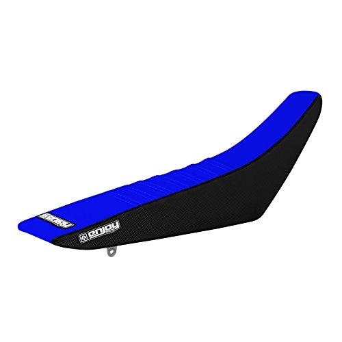 Enjoy MFG 2015 Sherco 450 SEF  SEF-R  300 SEF  SEF-R  SE  SE-R  250 SEF  SEF-R  SE  SE-R Black Sides  Blue Top Pleated Seat Cover