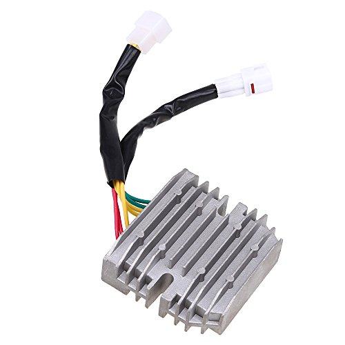 POSSBAY Rectifiers Voltage Regulator for Suzuki Bandit 1250 2007-2009