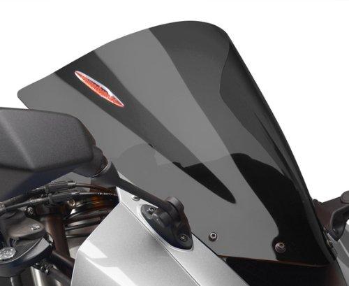 Powerbronze 400-K122-002 dark tint Airflow double bubble screen to fit Kawasaki Ninja ZX10-R
