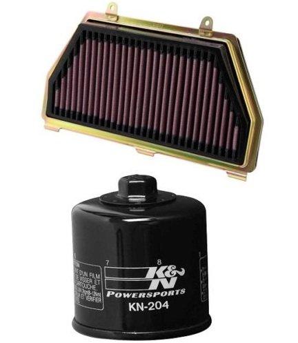 K&N Motorcycle Air Filter  Oil Filter Combo 2007-2014 Honda CBR600RR HA-6007  KN-204