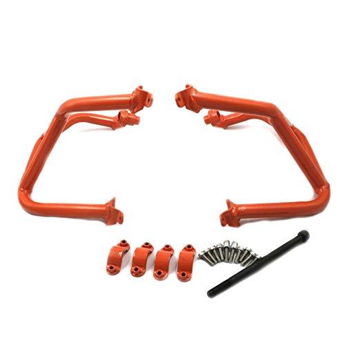 Alpha Rider Orange Crash Bars Frame Protector Protection Guard For KTM 690 Duke