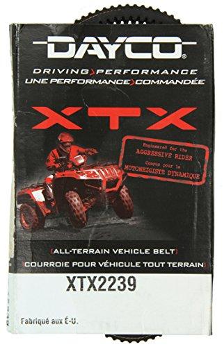 Dayco XTX2239 XTX Extreme Torque ATVUTV Drive Belt