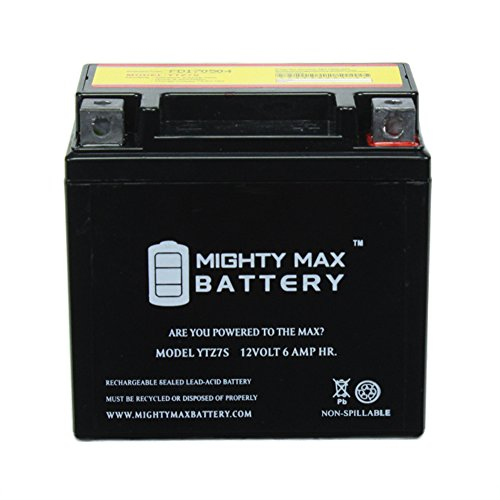 YTZ7S 12V 6AH Battery for Honda 230 CRF230F L -'07 '2015 - Mighty Max Battery brand product