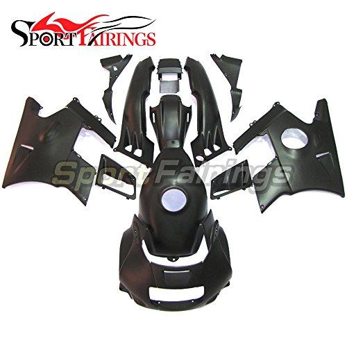 Sportfairings Motorcycle Fairing Kits For Honda CBR600 F2 Year 1991 1992 1993 1994 ABS Black Matte Full Cover
