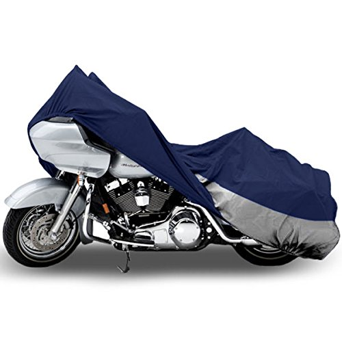 Motorcycle Bike Cover Travel Dust Storage Cover For Harley Road King Custom Classic