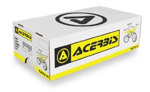 Acerbis Plastic Kit Black Honda CRF250 2006-2009