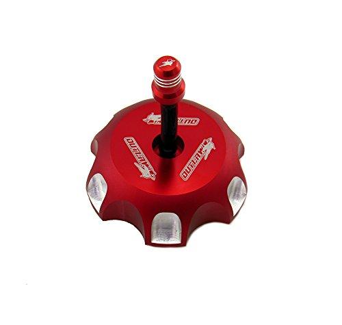 Outlaw Racing Red Billet Gas Fuel Cap Honda CRF250 CRF450
