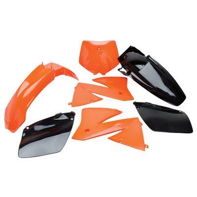 Polisport Plastics Kit Orange KTM SX 125 525 EXC 01-03