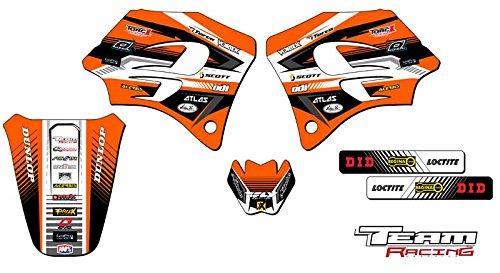 Team Racing Graphics kit for 1998-2001 KTM SX 65 ANALOG Base kit