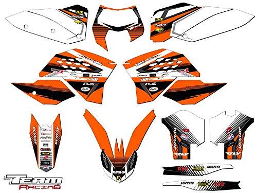 Team Racing Graphics kit for 2008-2010 KTM XCF ANALOGComplete kit