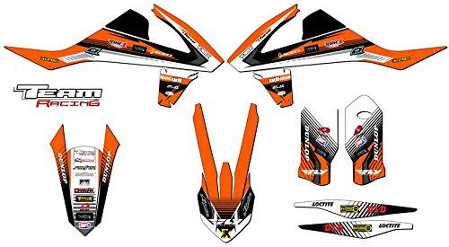 Team Racing Graphics kit for 2016-2017 KTM XCF ANALOG Base kit