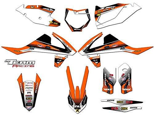 Team Racing Graphics kit for 2016-2017 KTM XCF ANALOGComplete kit