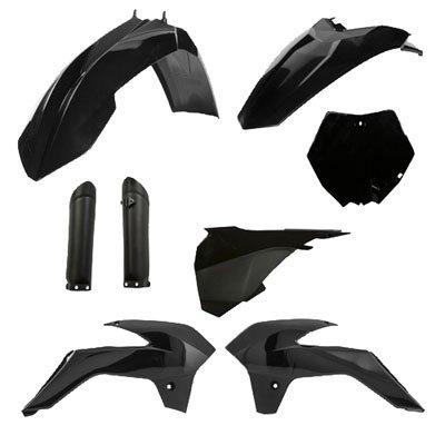 Acerbis Full Plastic Kit Black for KTM 85 SX 2013-2017