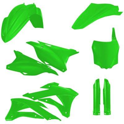 Acerbis Full Plastic Kit Flo Green for Kawasaki KX85 2014-2018