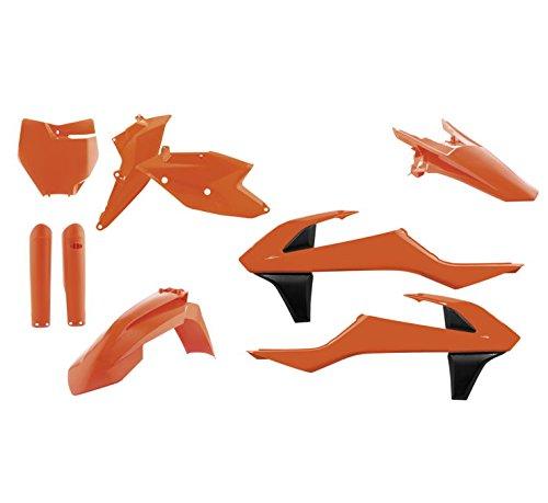 Acerbis Full Plastic Kit Flo Orange